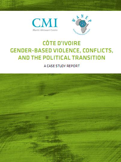 Cote d'ivoire Gender-Based Vilolence Conflict and The Political Transition